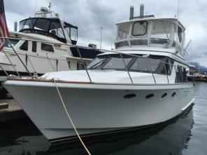 Ocean Alexander 42 twin Cat diesel 47 LOA gorgeous trade up and down